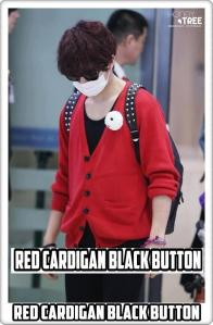 39 LAY RED CARDIGAN